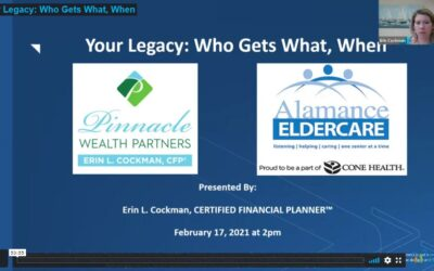 Your Legacy: Who Gets What, When